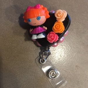 Lalaloopsy Tinies Custom Badge Reel for key card